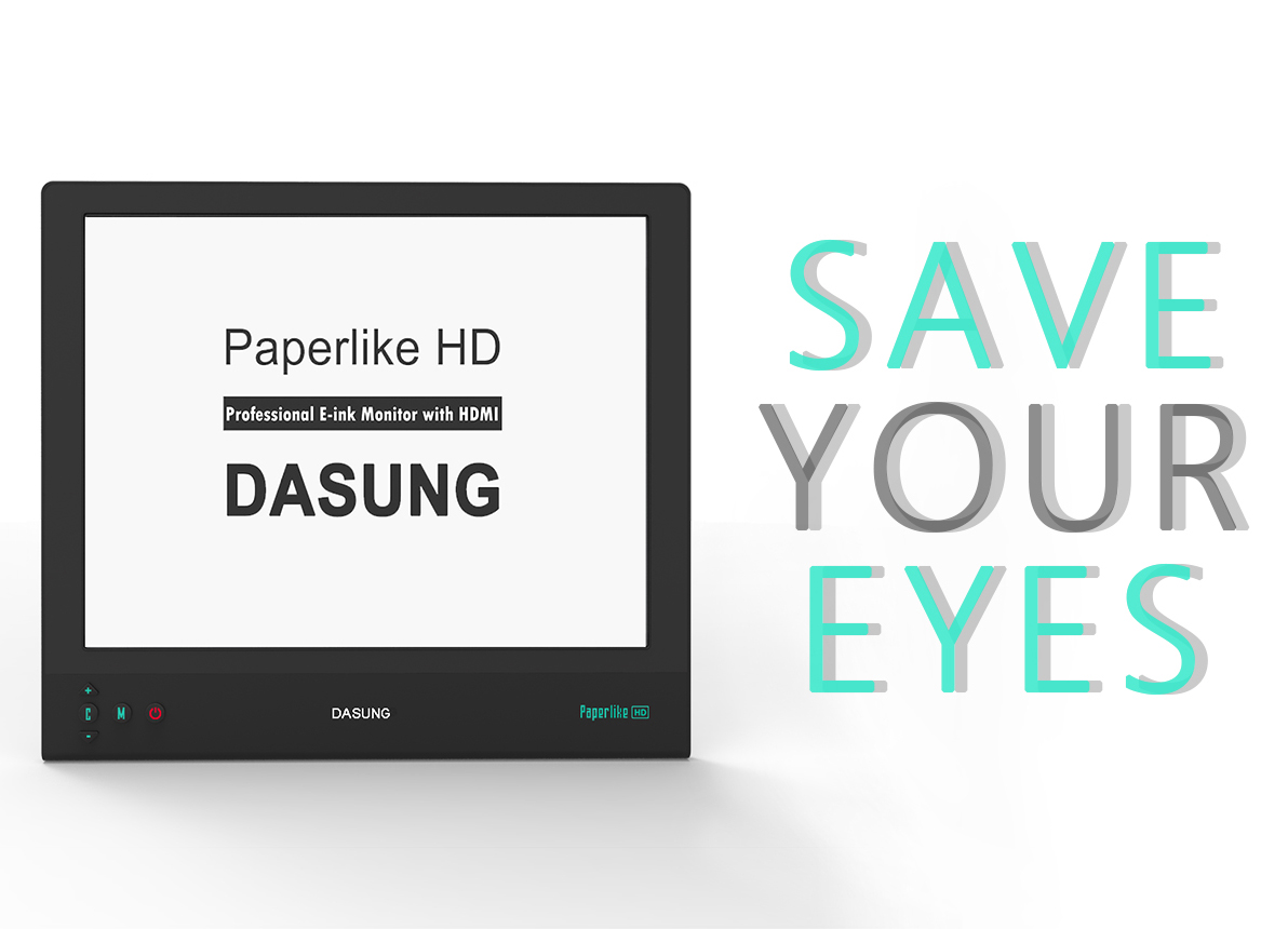 Dasung Paperlikesave Your Eyes Working Of Electronic Ink E Technology Product Images